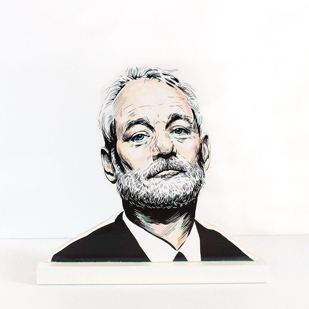 Bill Murray cultural standee
