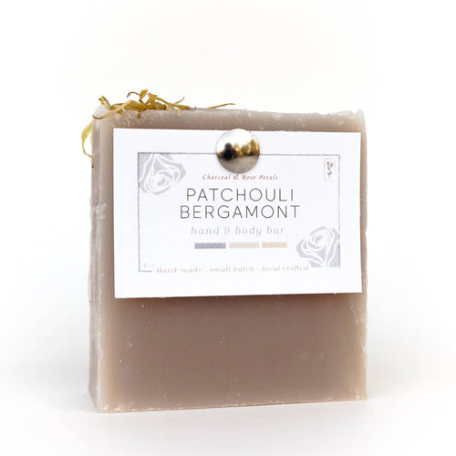 patchouli bergamont hand and body bar