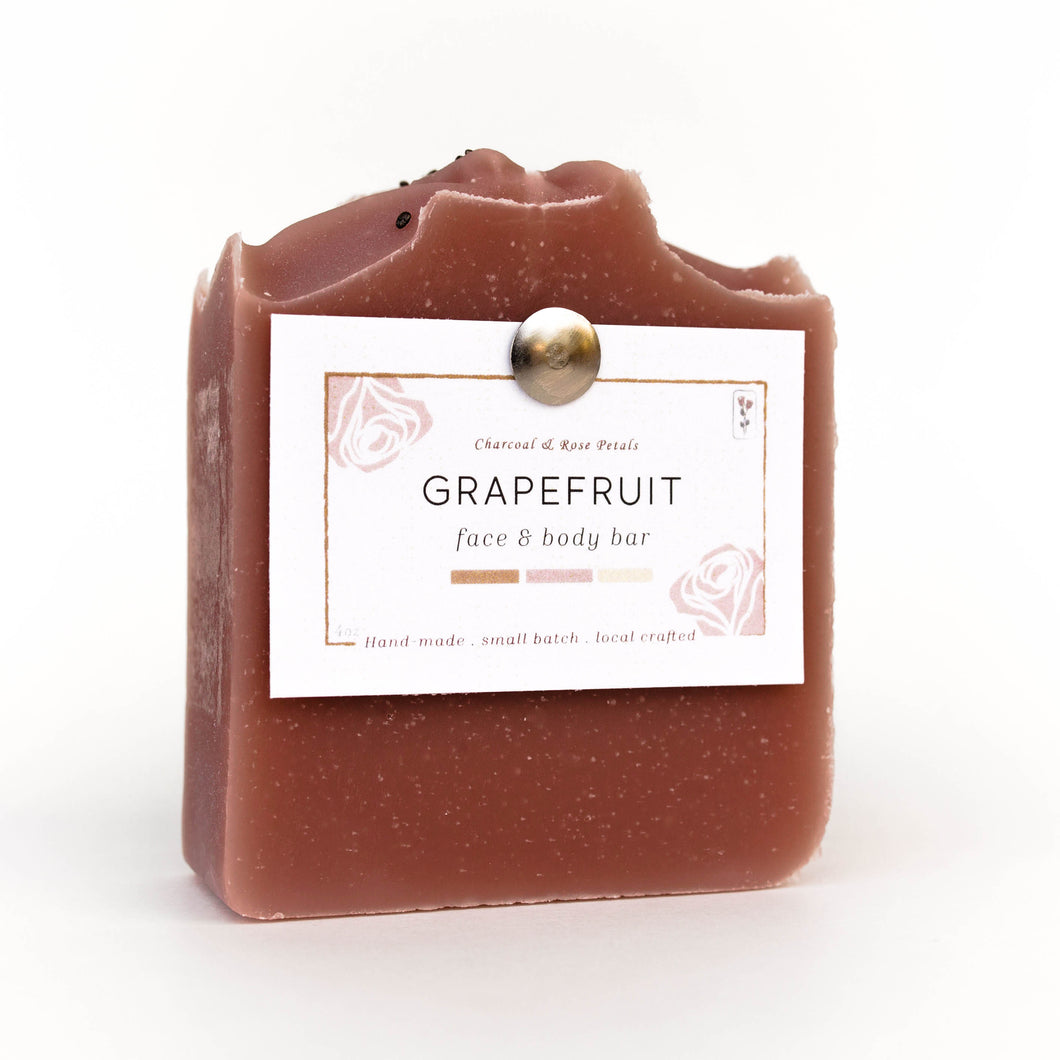 grapefruit hand and body bar