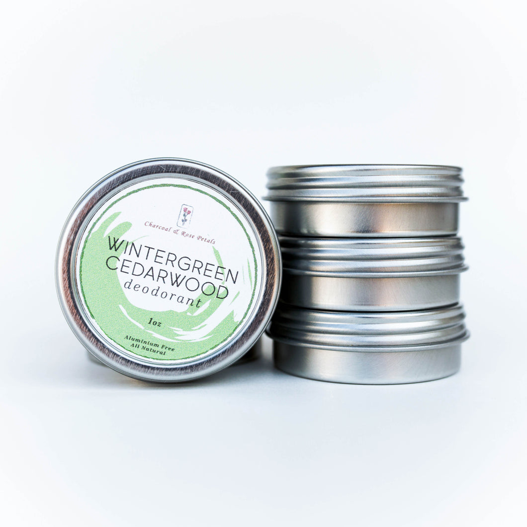 wintergreen cedarwood deodorant