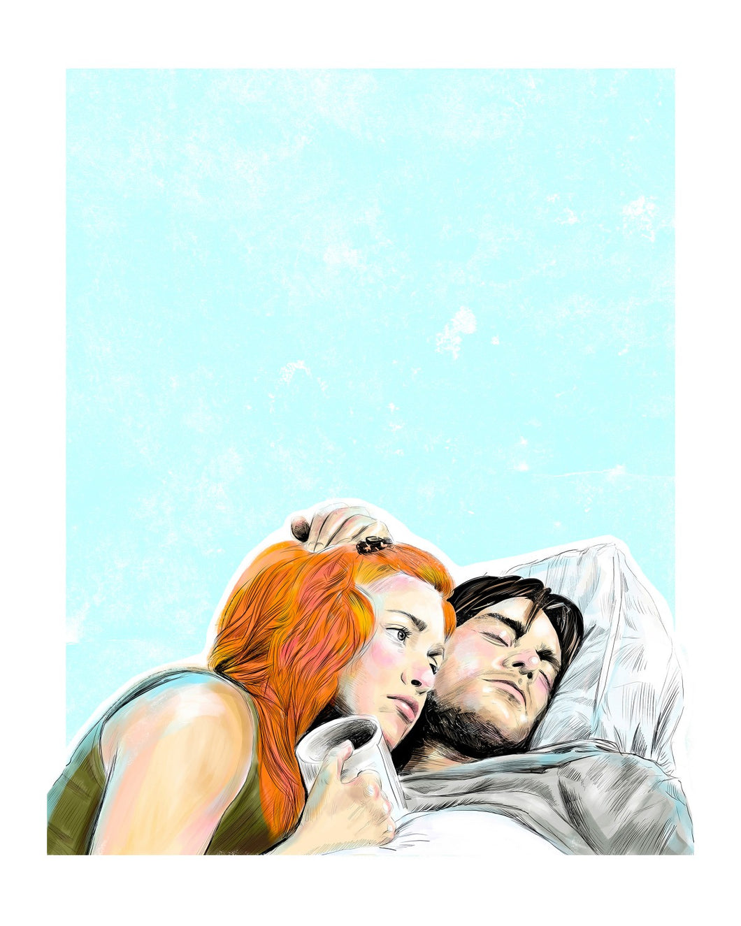 Eternal Sunshine of the Spotless Mind 8x10 print