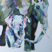 wee elephant greeting card