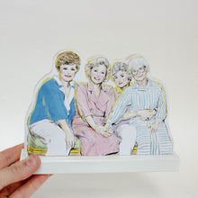 Golden Girls standee