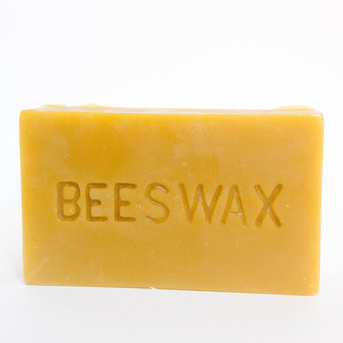 pure beeswax one pound brick
