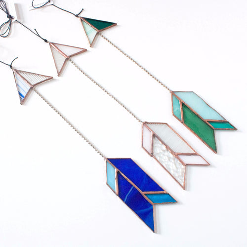 stained glass arrow