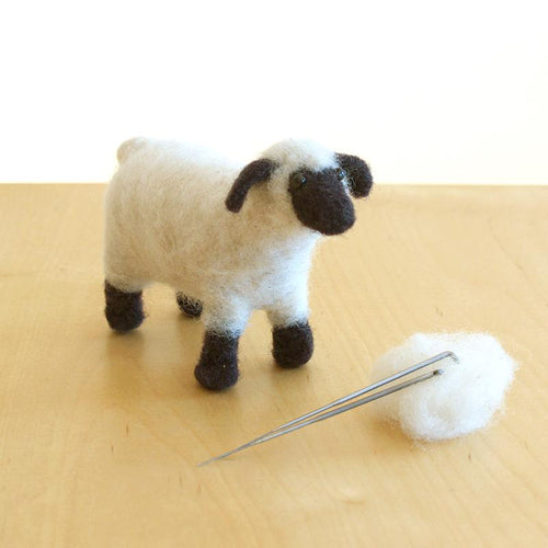 DIY needle felting kit: shropshire sheep