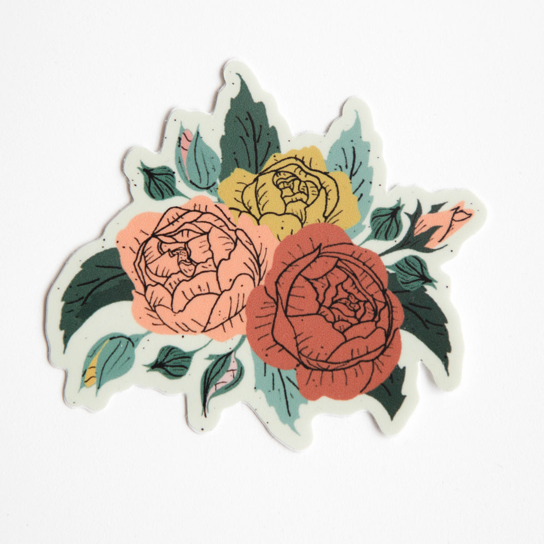 juliet roses sticker
