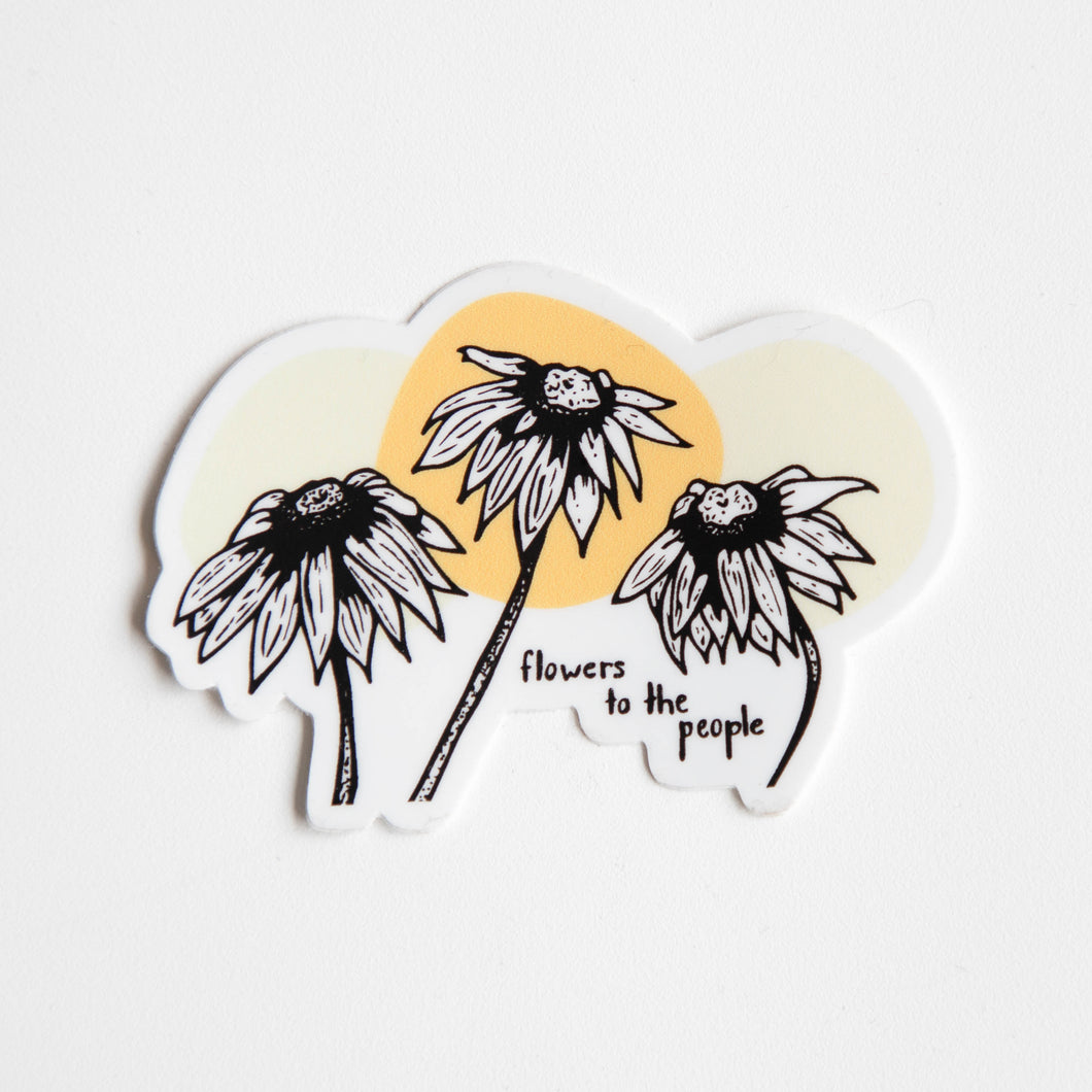 rudbeckia sticker - more colours
