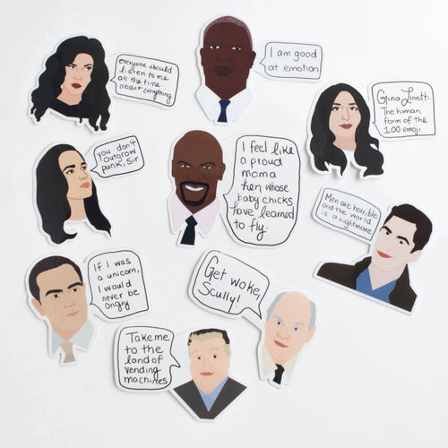 Brooklyn 99 sticker pack