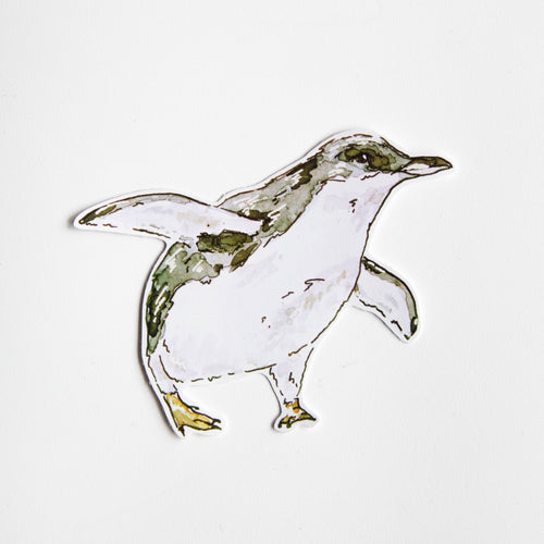 penguin vinyl sticker