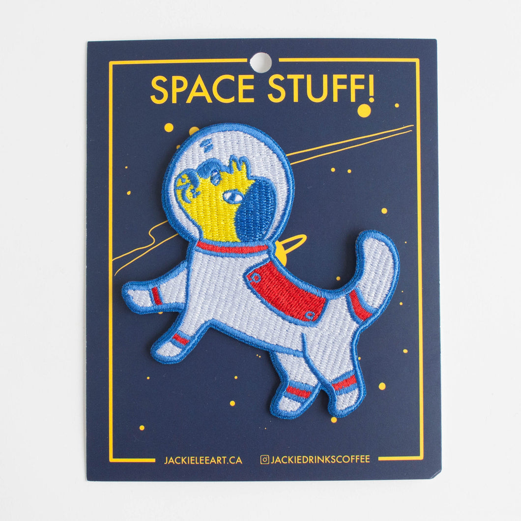 astronaut dog patch