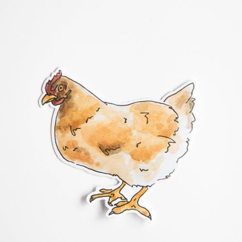 hen sticker