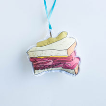 smoked meat sandwich ornament