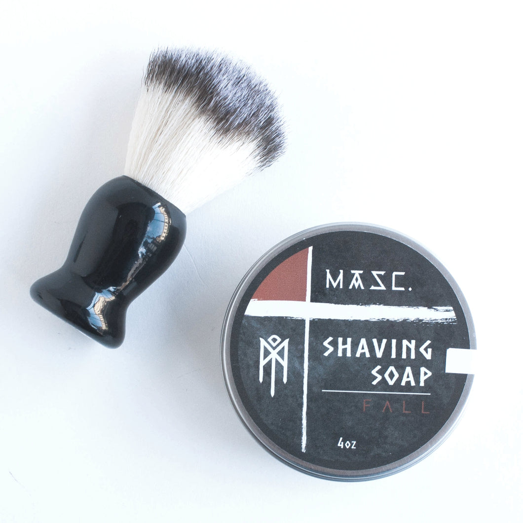 fall shaving soap
