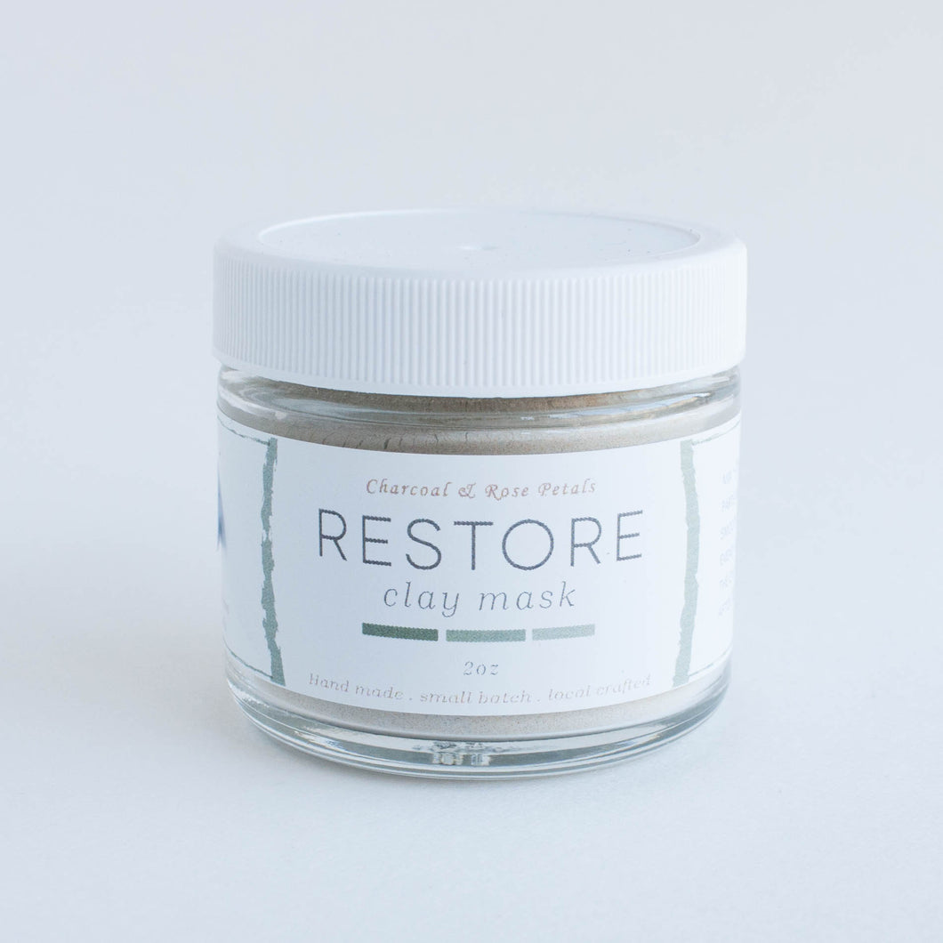 restore clay mask
