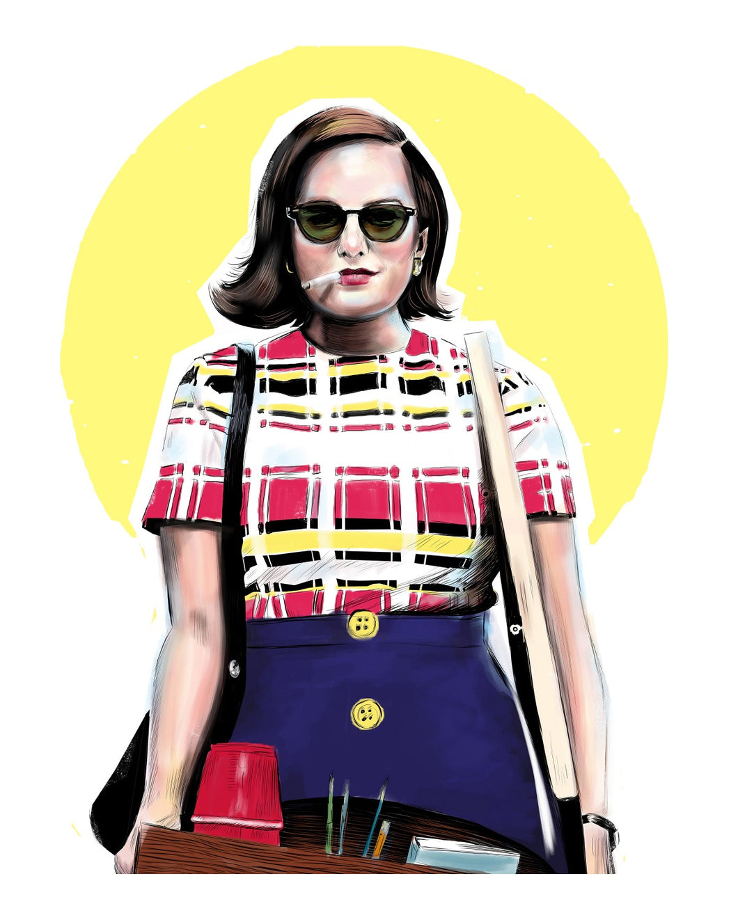 Peggy (Mad Men) 8x10 print