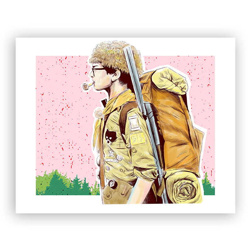 Sam from Moonrise Kingdom 8x10 print