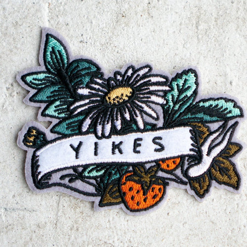 yikes sticker patch