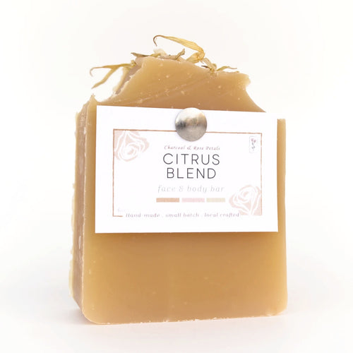 citrus blend face and body bar