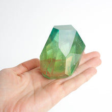 asymmetrical resin gems