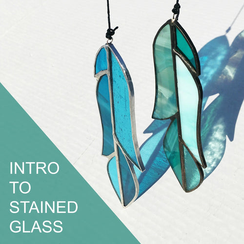 Intro to Stained Glass - Saturday May 16, 1-3pm OR 4-6pm