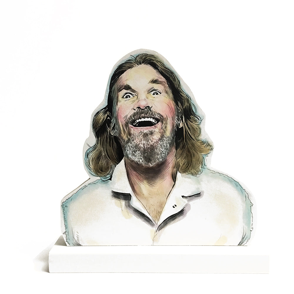 the big lebowski standee