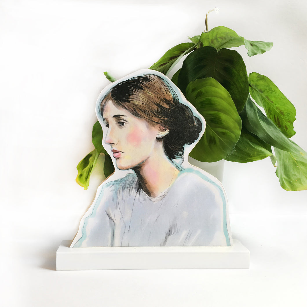 Virginia Woolf standee