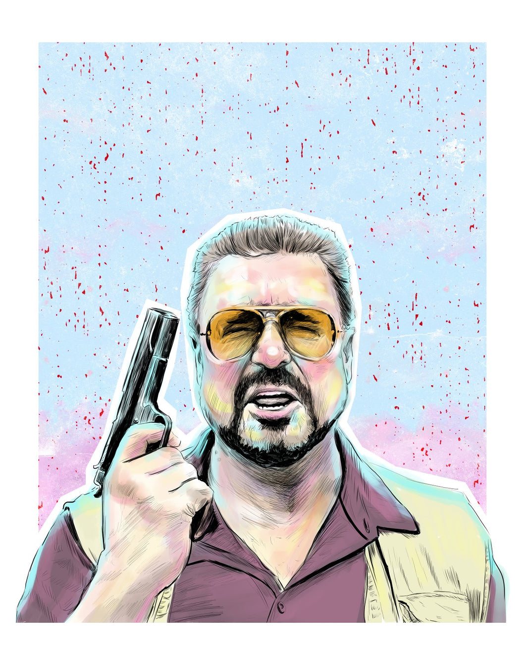 Walter (the Big Lebowski) 8x10 print