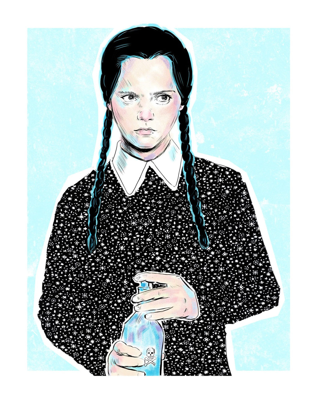 Wednesday Adams 8x10 print