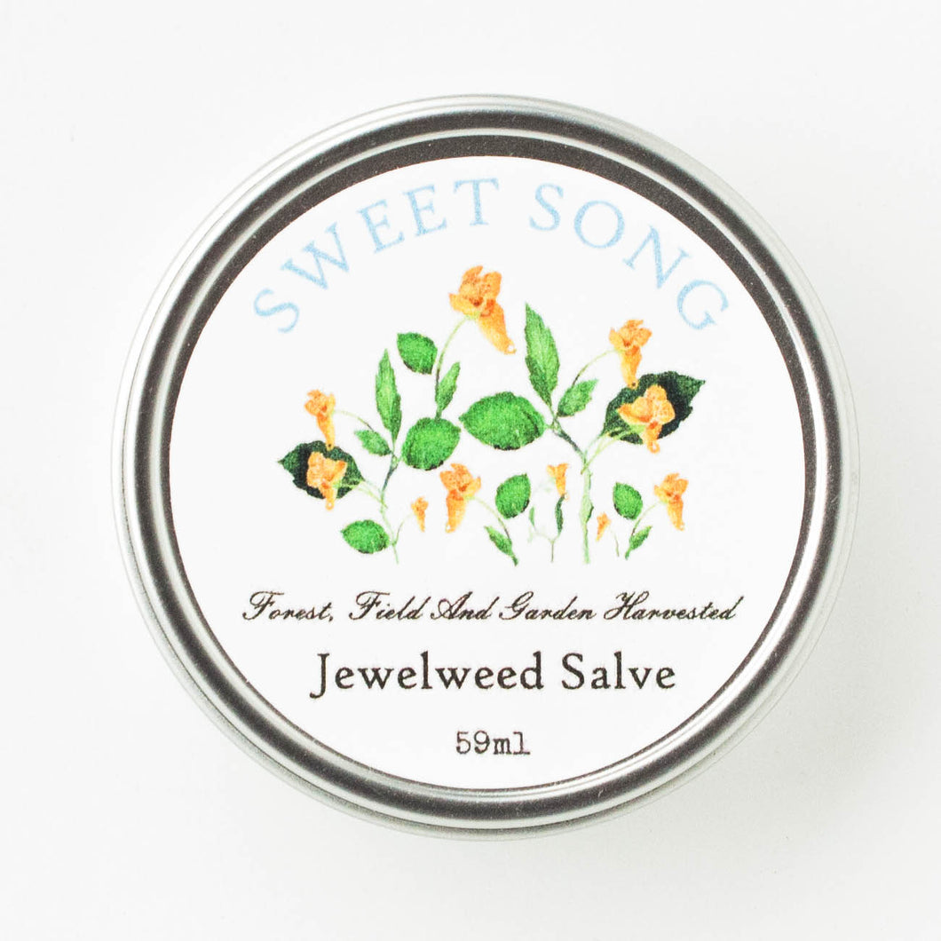jewelweed salve for poison ivy treatment