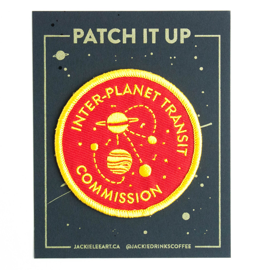 SALE - inter-planet transit patch