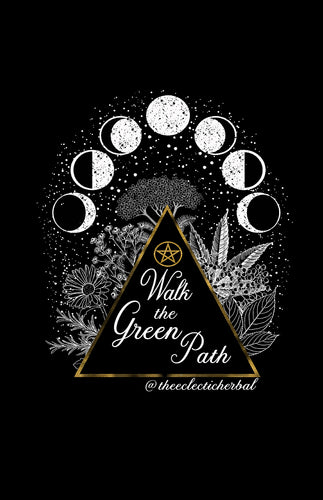 SALE - Walk the Green Path poster - 11x17
