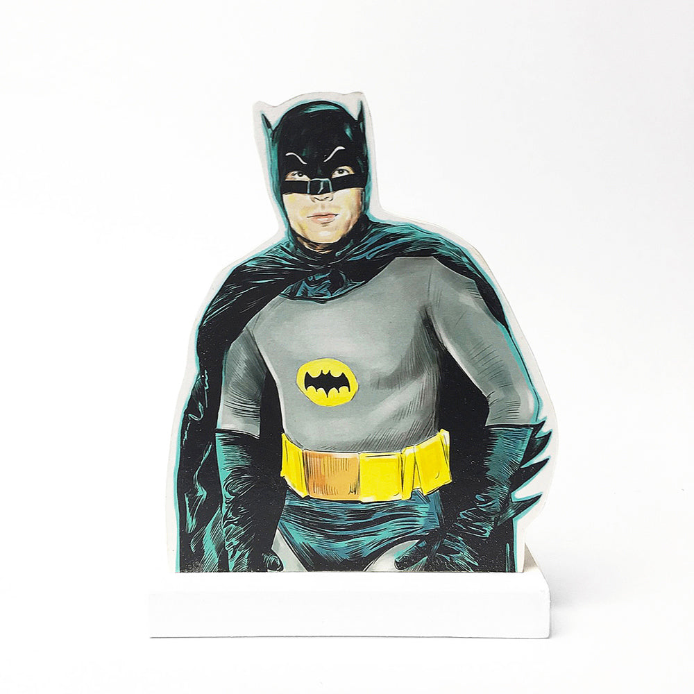 Adam West batman standee