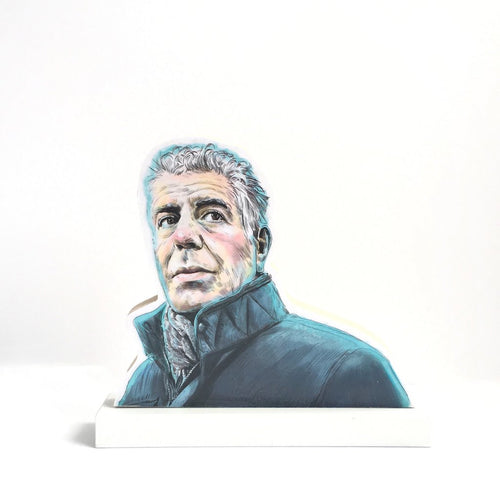 Anthony Bourdain standee