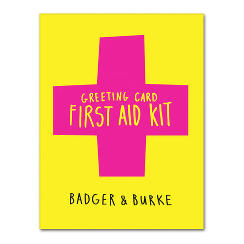 greeting card first aid kit - 8 cards