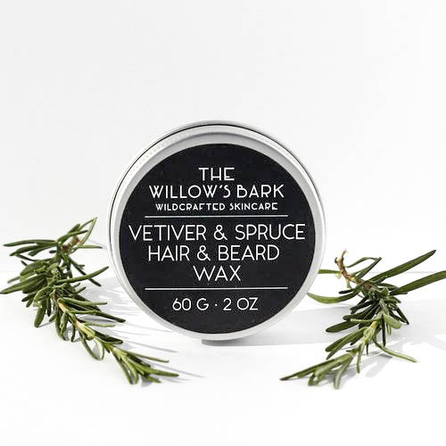 vetiver & spruce - hair & beard wax