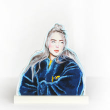 Billie Eilish cultural standee