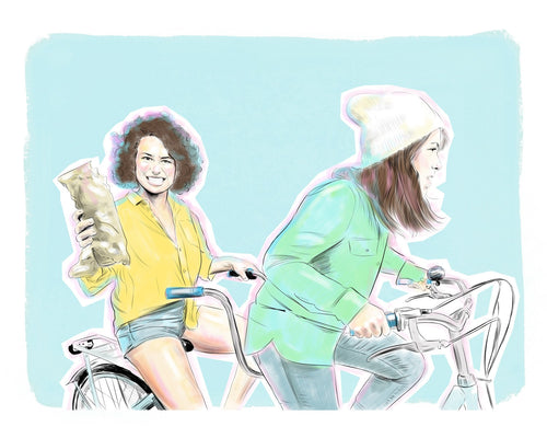 broad city 8x10 print