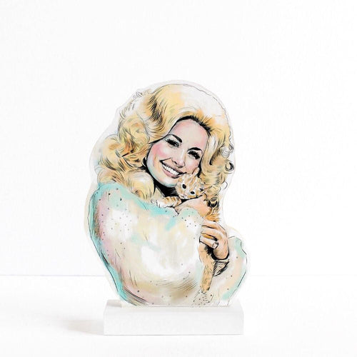 Dolly Parton standee