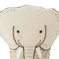 DIY embroidered doll kit: elephant