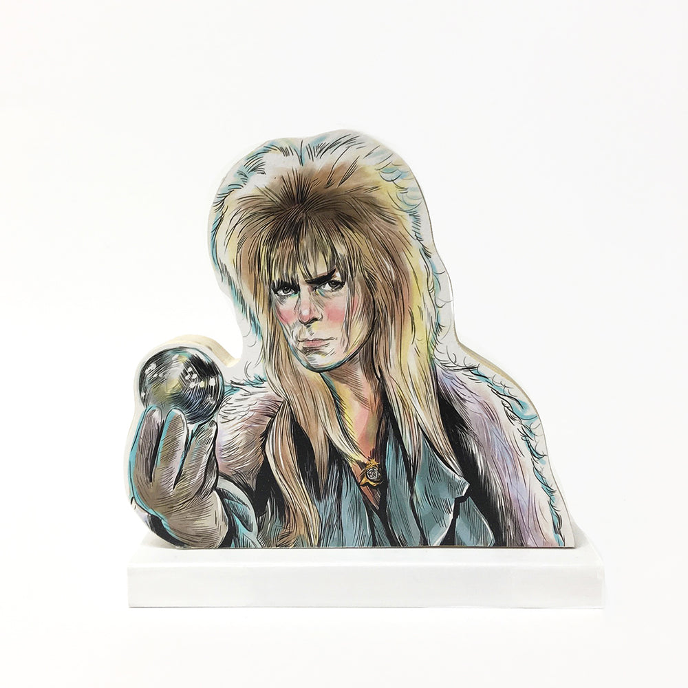 Goblin King Labyrinth standee