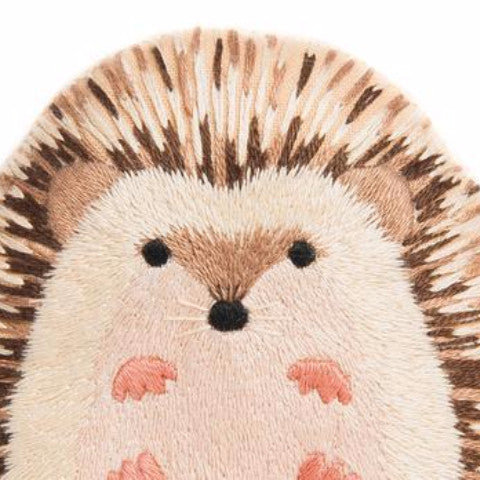 DIY embroidered doll starter kit: hedgehog
