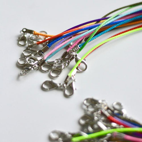 mask lanyard for kids - coloured cotton cord