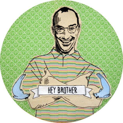 Buster - hey brother 8x10 print