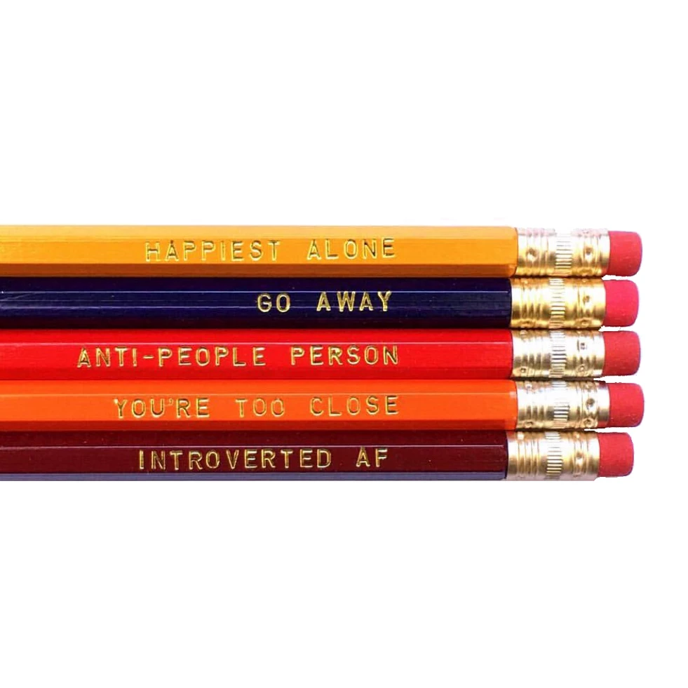 introverted pencil set