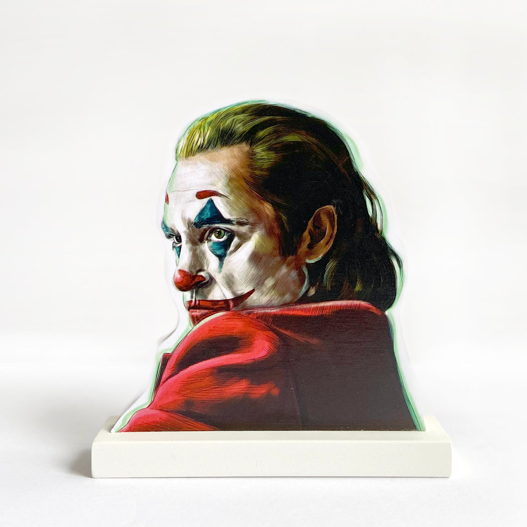 The Joker cultural standee