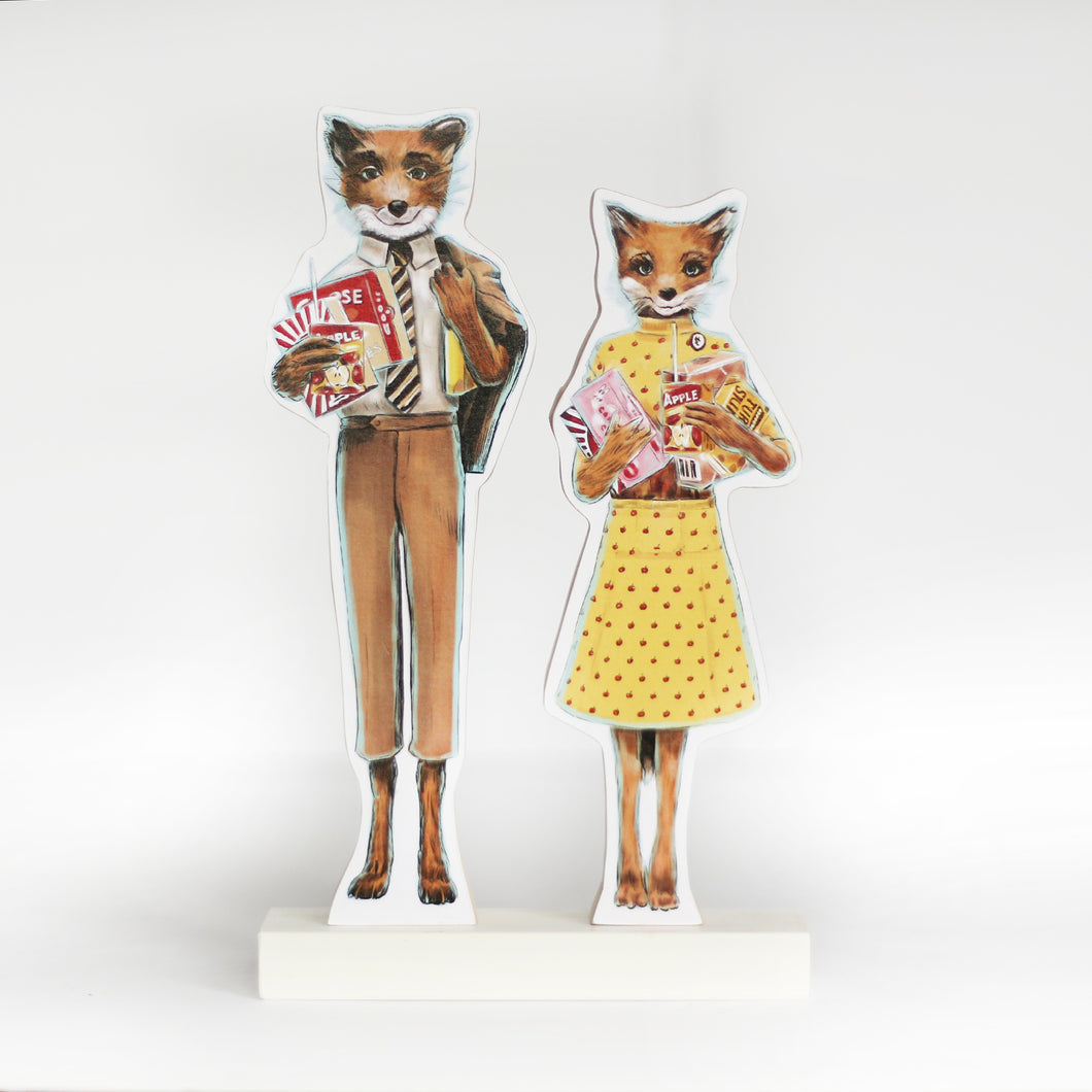 Fantastic Mr. Fox cultural standee