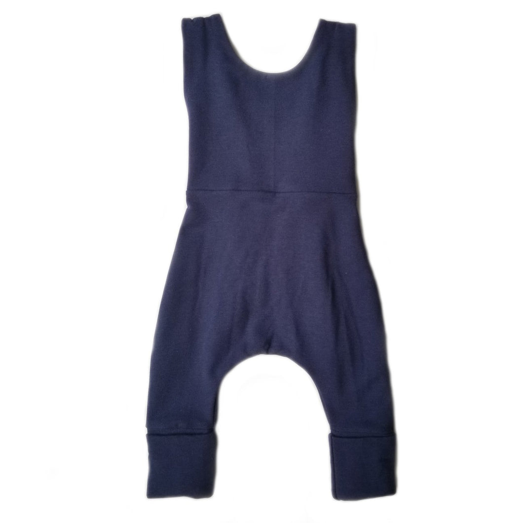 SALE - grow with me overalls - navy