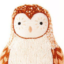 DIY embroidered doll kit: barn owl