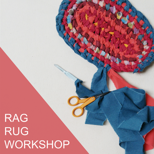 Rag Rug Workshop - Wednesday May 2nd, 6-9pm